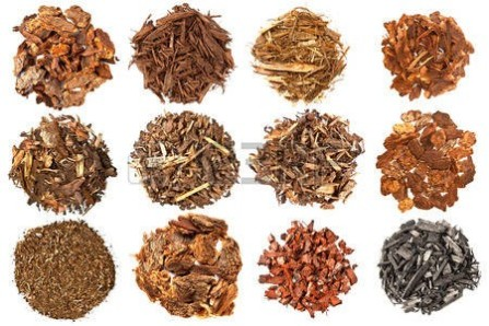 Figure 8. Different types of mulch